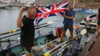 Lorry driver completes Atlantic challenge