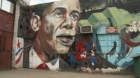 Barack Obama graffiti