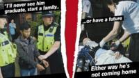 Anti-knife crime poster