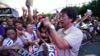 Philippines election rally