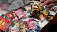 Undated handout photo issued by City of Edinburgh Council of so-called legal highs