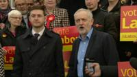 Jim McMahon (left) and Jeremy Corbyn