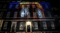 Brexit Big Ben bongs at Downing Street