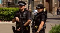 armed police in Glasgow