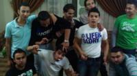The teenagers enjoying life before IS