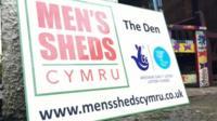 Sign for Men's Sheds