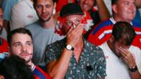 England fans react to loss against Iceland