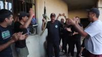 Iraqi special forces dancing