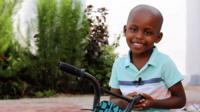 A Tanzanian boy