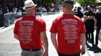 Liverpool and Tottenham fans travel to the all-English Champions League final in Madrid.