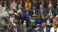 Peter Bottomley drags John Bercow from the benches