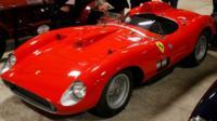 A 1957 Ferrari 335 Sport Scaglietti