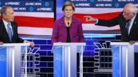 Democratic rivals attack Bloomberg in TV debate