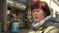 Woman in Port Talbot