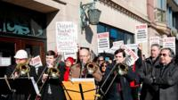 Chicago Symphony Orchestra on strike
