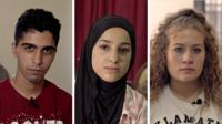 Three Palestinian teenagers