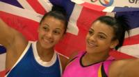 Becky and Ellie Downie