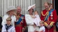 Royal Family on Buckingham Palace balcony