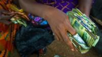 Currency in Ghana - the cedi