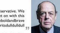 Nicholas Soames photo with quote