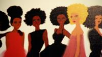 Drawing of women by Nicholle Kobi
