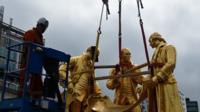 Boulton, Watt and Murdoch statue