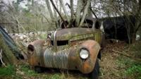 One of Dean Lewis' junkyard wrecks