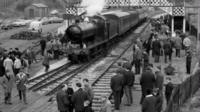 The first Severn Valley Railway train