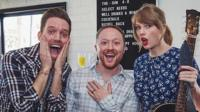 Taylor Swift is one of the biggest pop stars in the world. But that didn't stop her turning up at an engagement party to surprise one lucky couple. Watch it here: