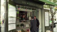 'Lulu dans ma rue' kiosk in Paris