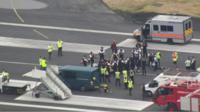 Protest at City Airport