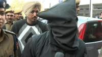 Man found guilty of rape wearing a hood
