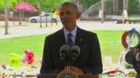 US President Barack Obama in Orlando