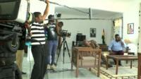 Film set in Ghana