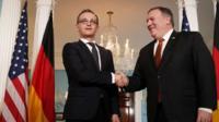 وزرای خارجه آمریکا و آلمان در واشنگتن