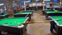 Allstar Sports Bar trick shot
