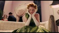 Still from Coen brothers film, woman in green dress