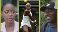 Coco Gauff and her parents