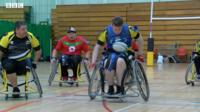 Wales's Wheelchair Rugby League team