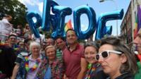 Taoiseach Leo Varadkar and Tánaiste Frances Fitzgerald attended the Dublin Pride parade