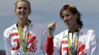 Victoria Thornley and Katherine Grainger