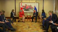 Двусторонние встречи в Китае