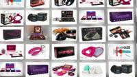 Sex toys on sale via an Indian website