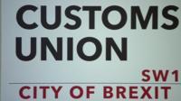 Customs union sign