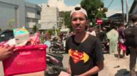 Looter in Palu
