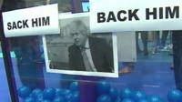 Boris Johnson mood box