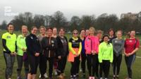 Knaresborough Striders first 5km run