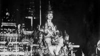 Coronation of King Prajadhipok