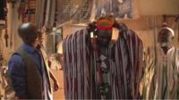 Clothing made from dan fani fabric