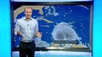 Simon King tells Newsround what's next for Hurricane Matthew